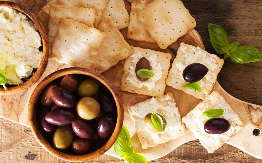 La ricetta delle olive nere sotto sale