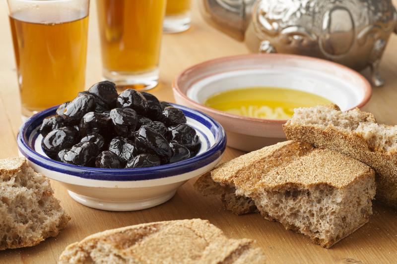 Come fare le olive nere secche